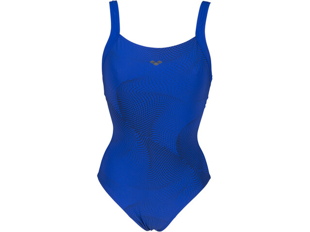 arena Ottavia Wing Back One Piece Swimsuit C-Cup Women, bright blue/bright blue